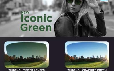 Essilor transition signature VII graphite green lenses