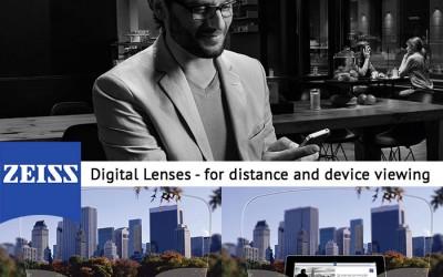New – Zeiss Digital Lenses